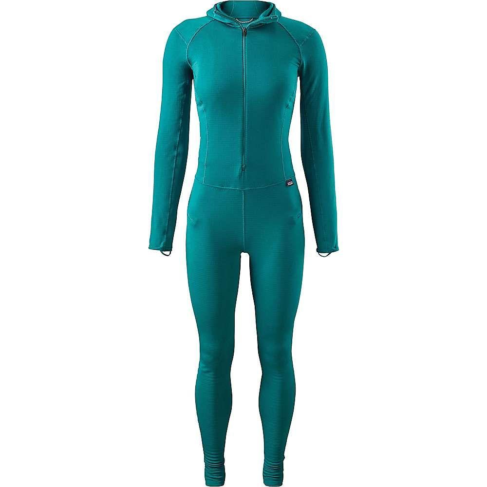 パタゴニア レディース インナー・下着【Patagonia Capilene Thermal Weight One-Piece Suit】Elwha Blue