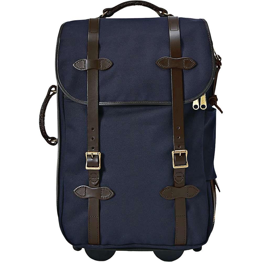フィルソン ユニセックス バッグ スーツケース・キャリーバッグ【Filson Medium Rolling Carry-On Bag】Navy
