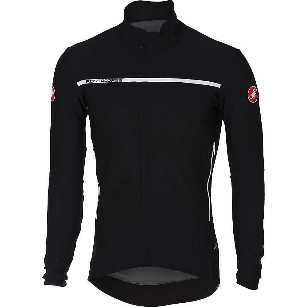 カステリ メンズ 自転車 アウター【Castelli Perfetto LS Jacket】Light Black