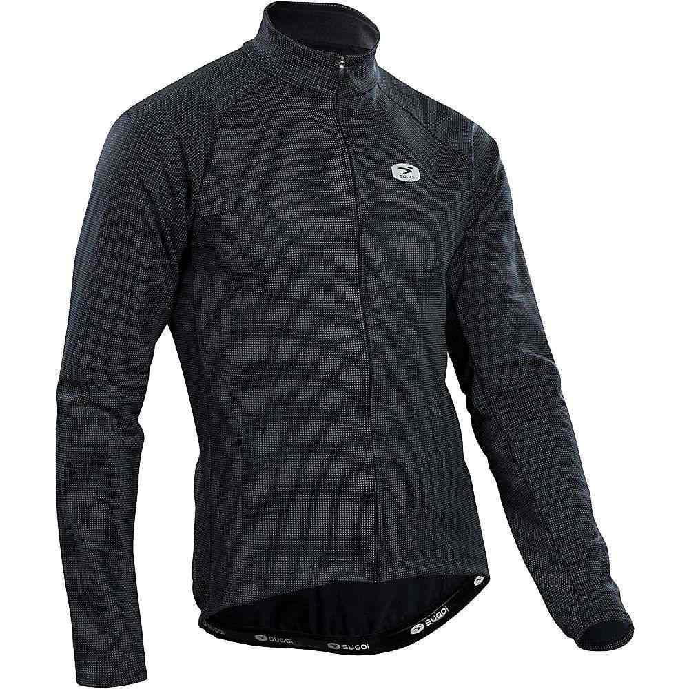 スゴイ メンズ 自転車 トップス【Sugoi Zap Thermal LS Jersey】Black
