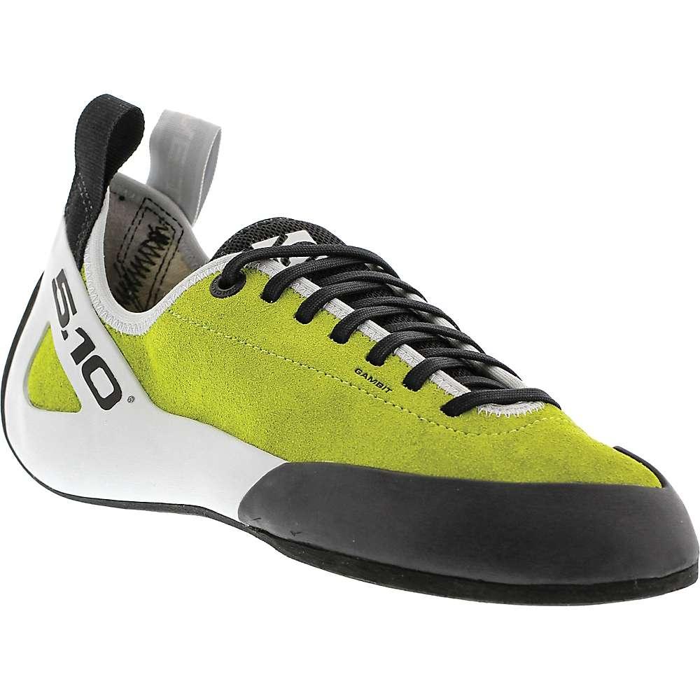 ファイブテン メンズ クライミング シューズ・靴【Five Ten Gambit Lace Climbing Shoe】Semi-Solar Green