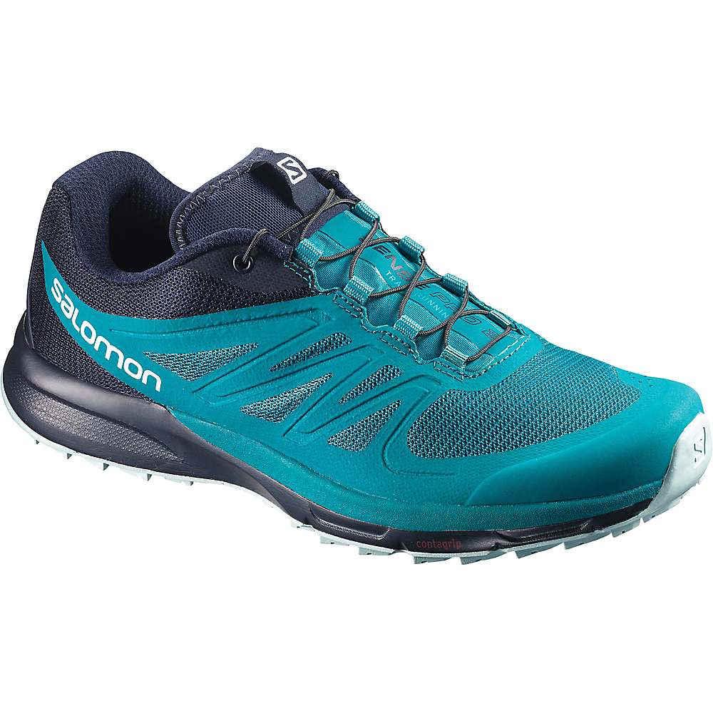 サロモン レディース ランニング・ウォーキング シューズ・靴【Salomon Sense Pro 2 Shoe】Enamel Blue / Navy Blazer / Eggshell Blue