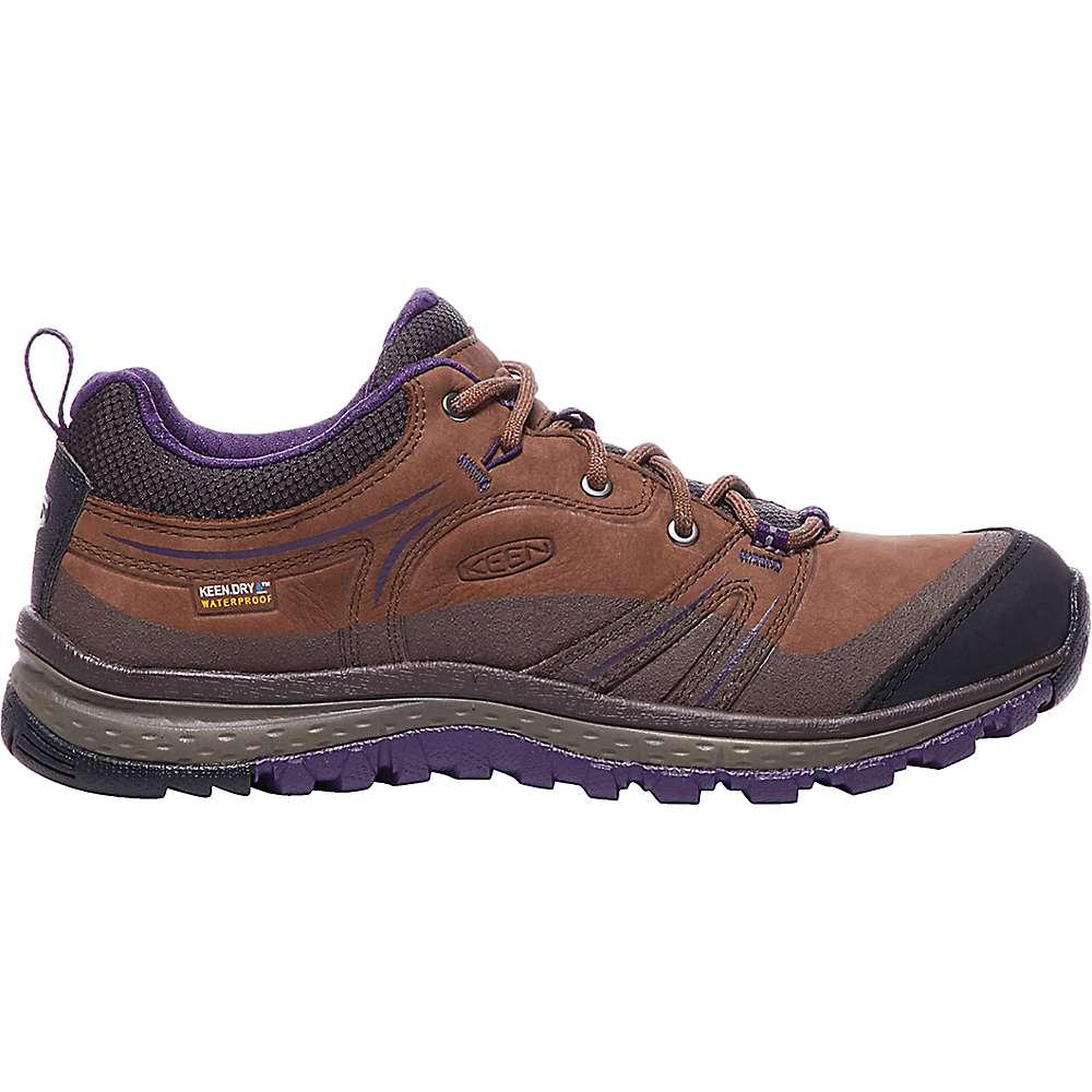 キーン レディース ランニング・ウォーキング シューズ・靴【Keen Terradora Leather Waterproof Shoe】Scotch / Mulch