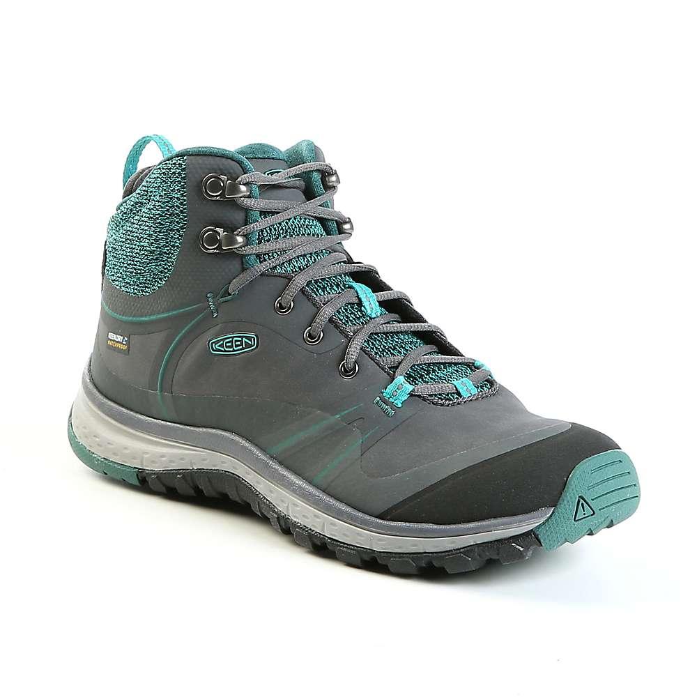 キーン レディース ランニング・ウォーキング シューズ・靴【Keen Terradora Pulse Mid Waterproof Shoe】Magnet / Baltic