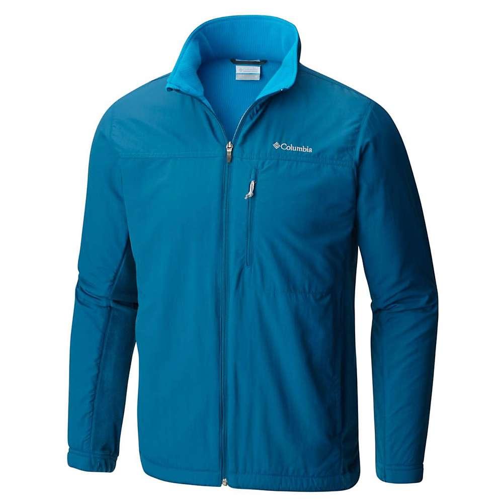 コロンビア メンズ トップス フリース【Columbia Silver Ridge Full Zip Jacket】Phoenix Blue