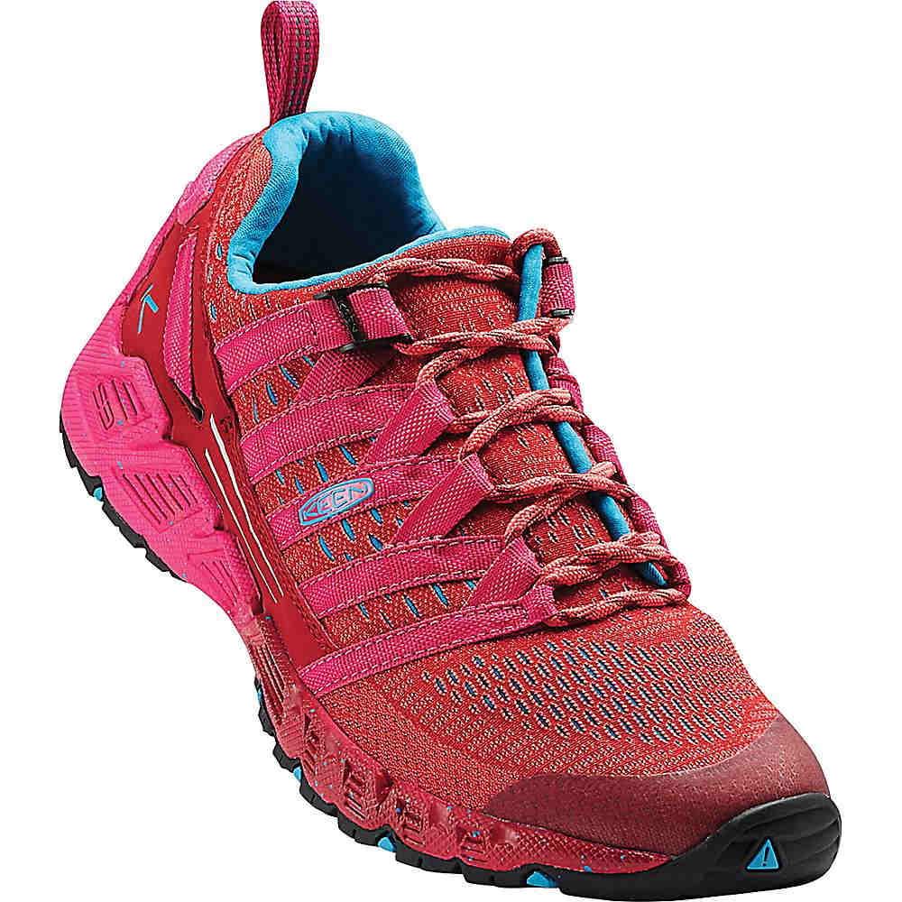 キーン レディース ランニング・ウォーキング シューズ・靴【Keen Versago Shoe】Red Dahlia / Deep Coral