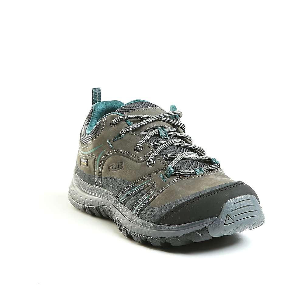 キーン レディース ランニング・ウォーキング シューズ・靴【Keen Terradora Leather Waterproof Shoe】Mushroom / Magnet