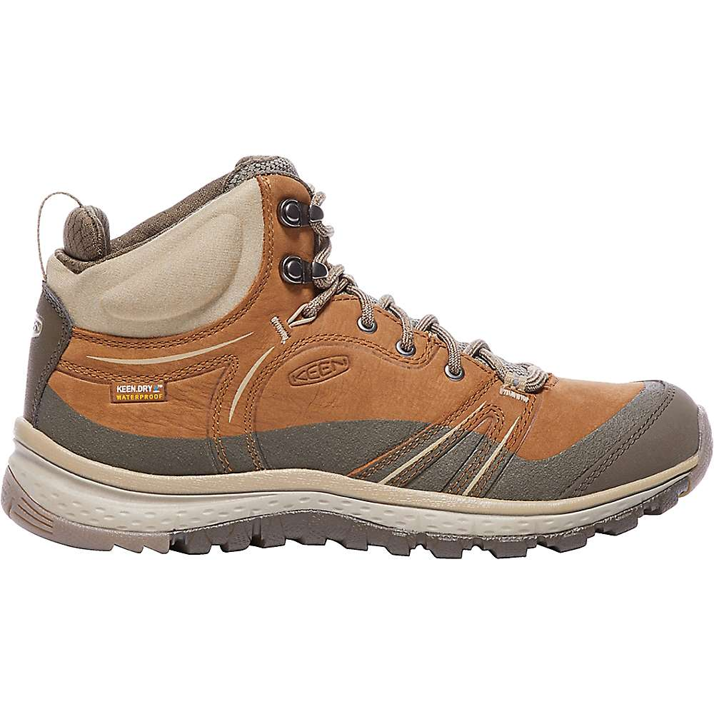キーン レディース ランニング・ウォーキング シューズ・靴【Keen Terradora Leather Mid Waterproof Shoe】Timber / Cornstalk