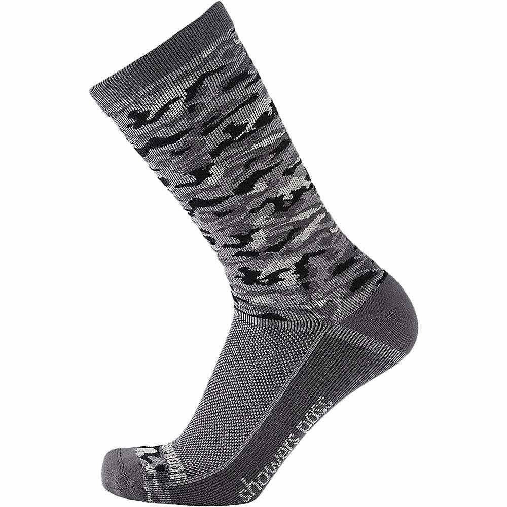 シャワーズ パス メンズ ハイキング・登山【Showers Pass Crosspoint Camo Lightweight WP Sock】Grey Camo