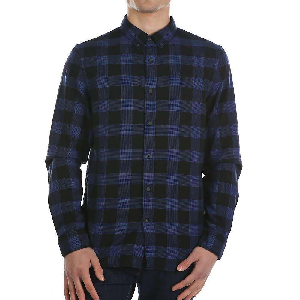 ティンバーランド メンズ トップス シャツ【Timberland Back River Herringbone Plaid Shirt】Clematis Blue YD