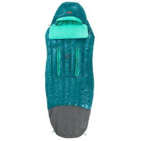 ネモ レディース ハイキング・登山【Rave 15 Sleeping Bag】Jade / Sea Glass