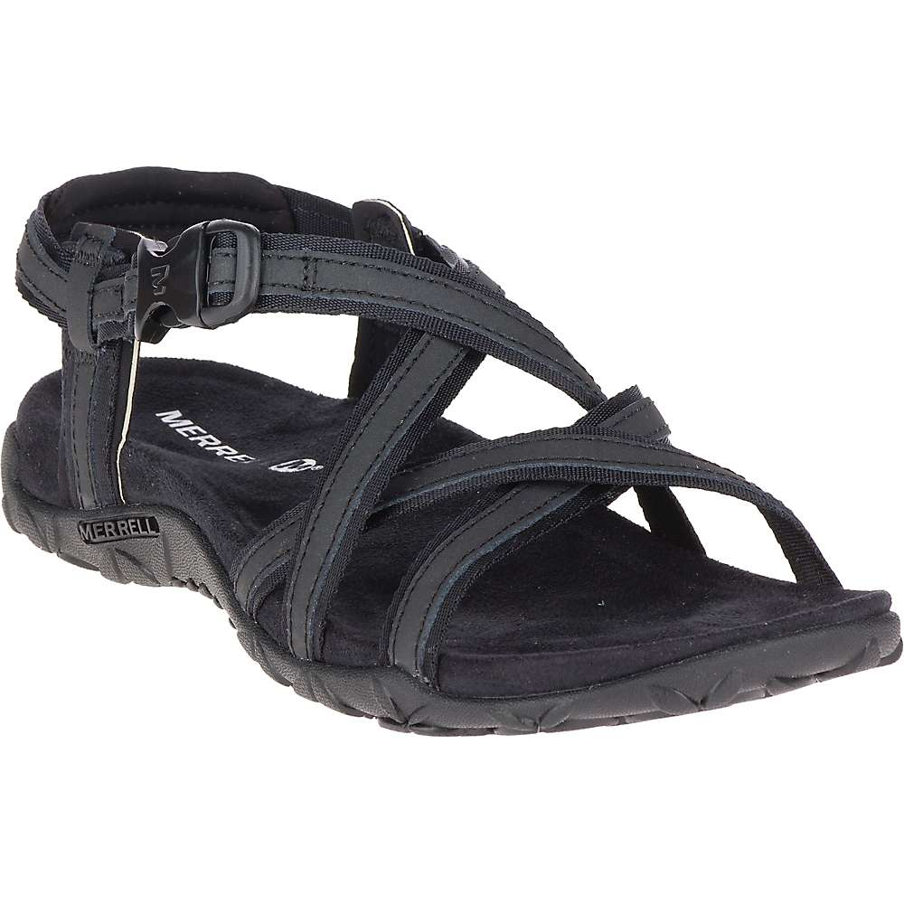 メレル レディース シューズ・靴 サンダル・ミュール【Terran Ari Lattice Sandal】Black