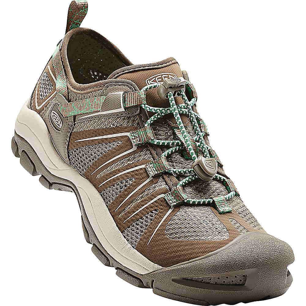 キーン レディース ランニング・ウォーキング シューズ・靴【Mckenzie II Shoe】Canteen / Malachite