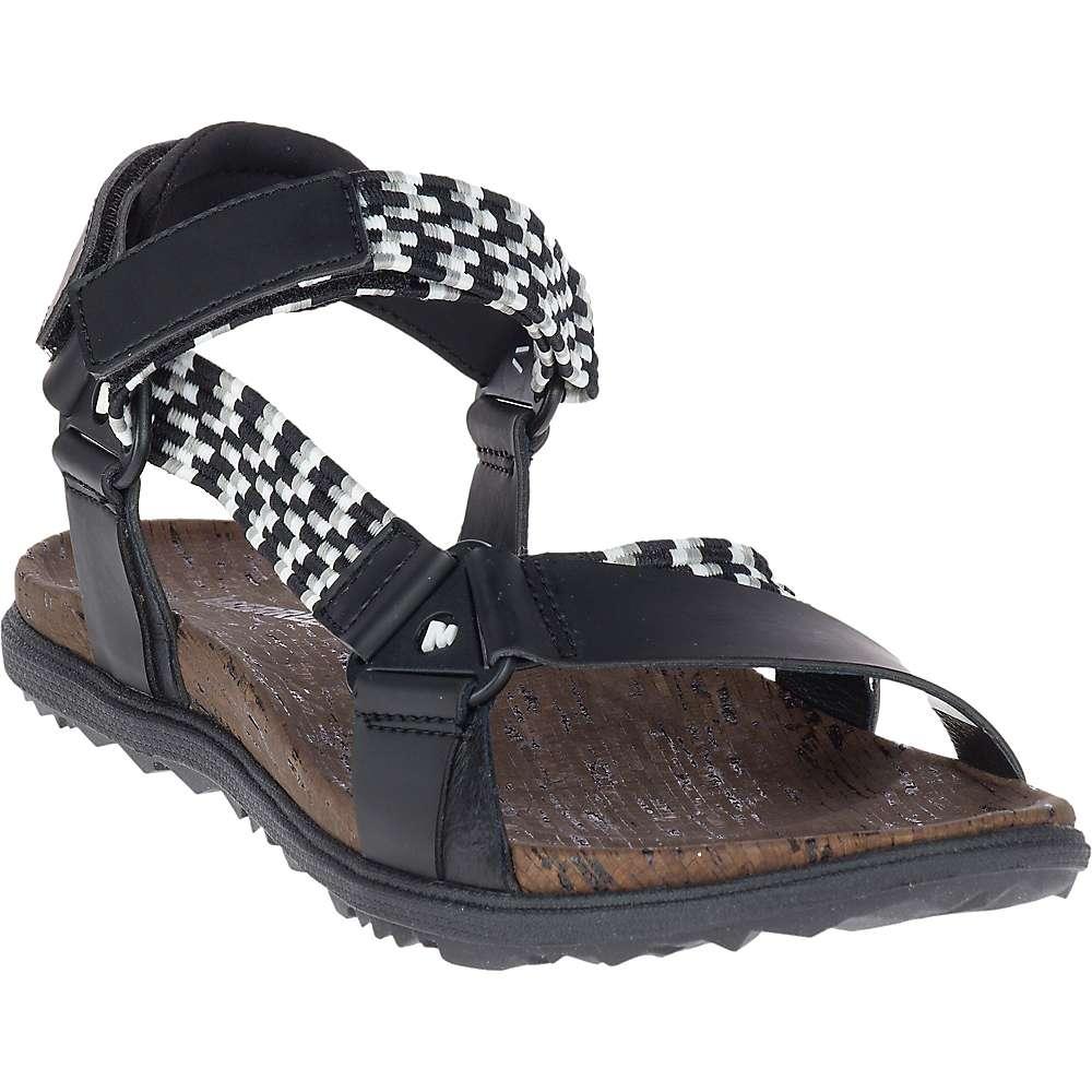 メレル レディース シューズ・靴 サンダル・ミュール【Around Town Sunvue Woven Sandal】Black