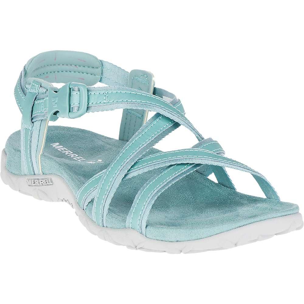 メレル レディース シューズ・靴 サンダル・ミュール【Terran Ari Lattice Sandal】Aquifer