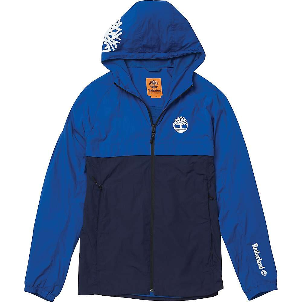 ティンバーランド メンズ アウター ジャケット【Timberland Mt. Liberty LW Hooded Shell】Yale Blue