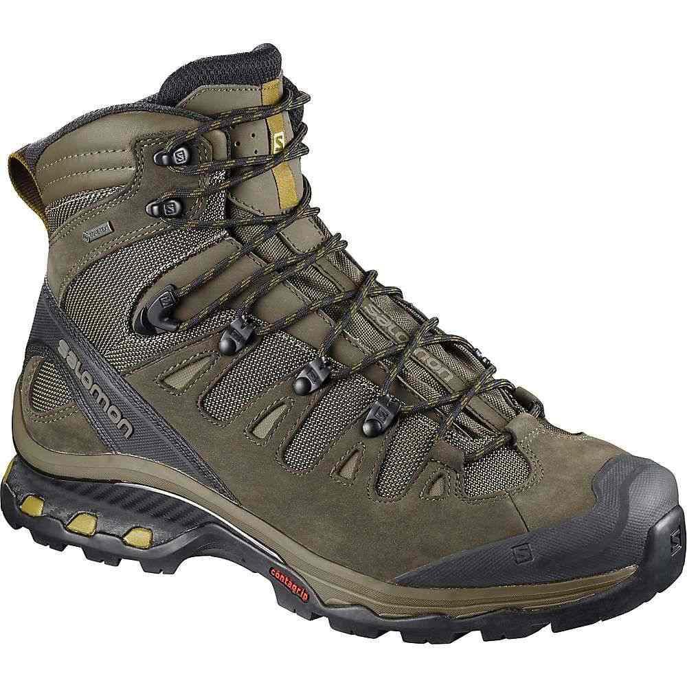 サロモン メンズ ハイキング・登山 シューズ・靴【Quest 4D 3 GTX Boot】Wren / Bungee Cord / Green Sulphur