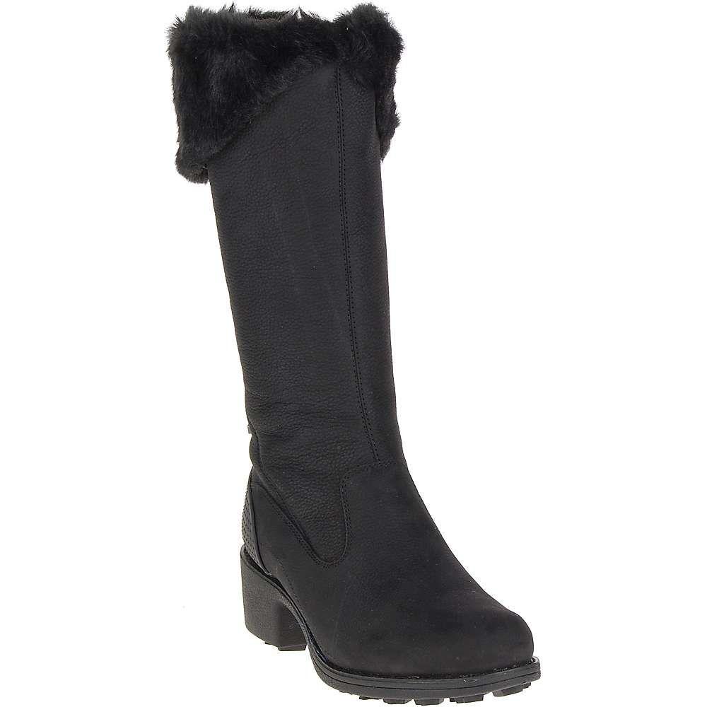 メレル レディース シューズ・靴 ブーツ【Chateau Tall Zip Polar Waterproof Boot】Black