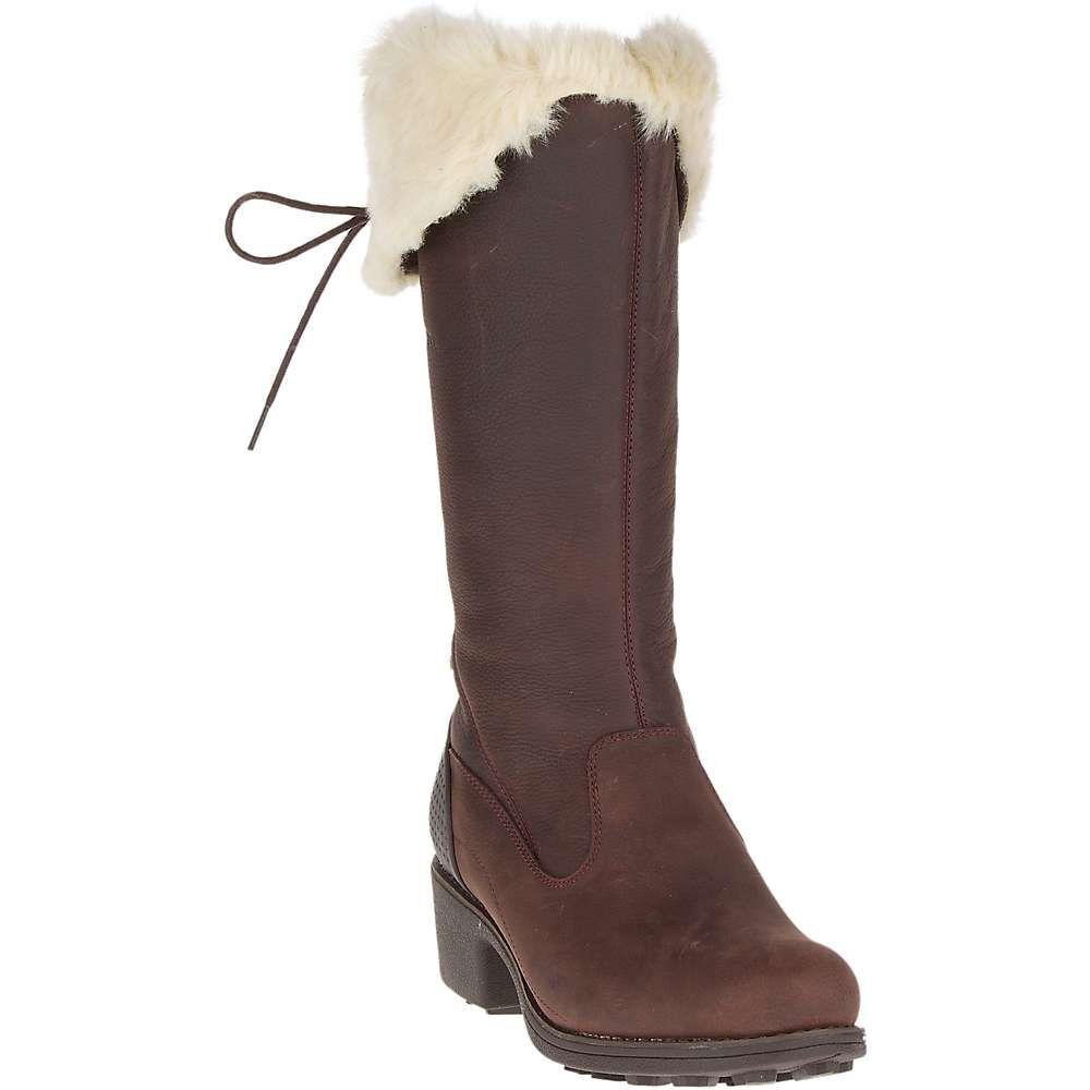 メレル レディース シューズ・靴 ブーツ【Chateau Tall Zip Polar Waterproof Boot】Brunette