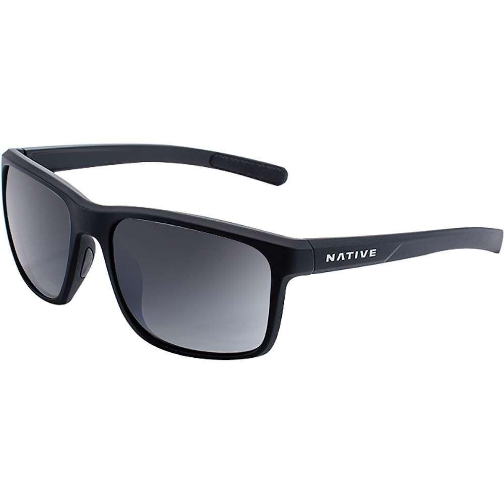 ネイティブ メンズ メガネ・サングラス【Natuve Wells Polarized Sunglasses】Matte Black Crystal / Grey Polarized