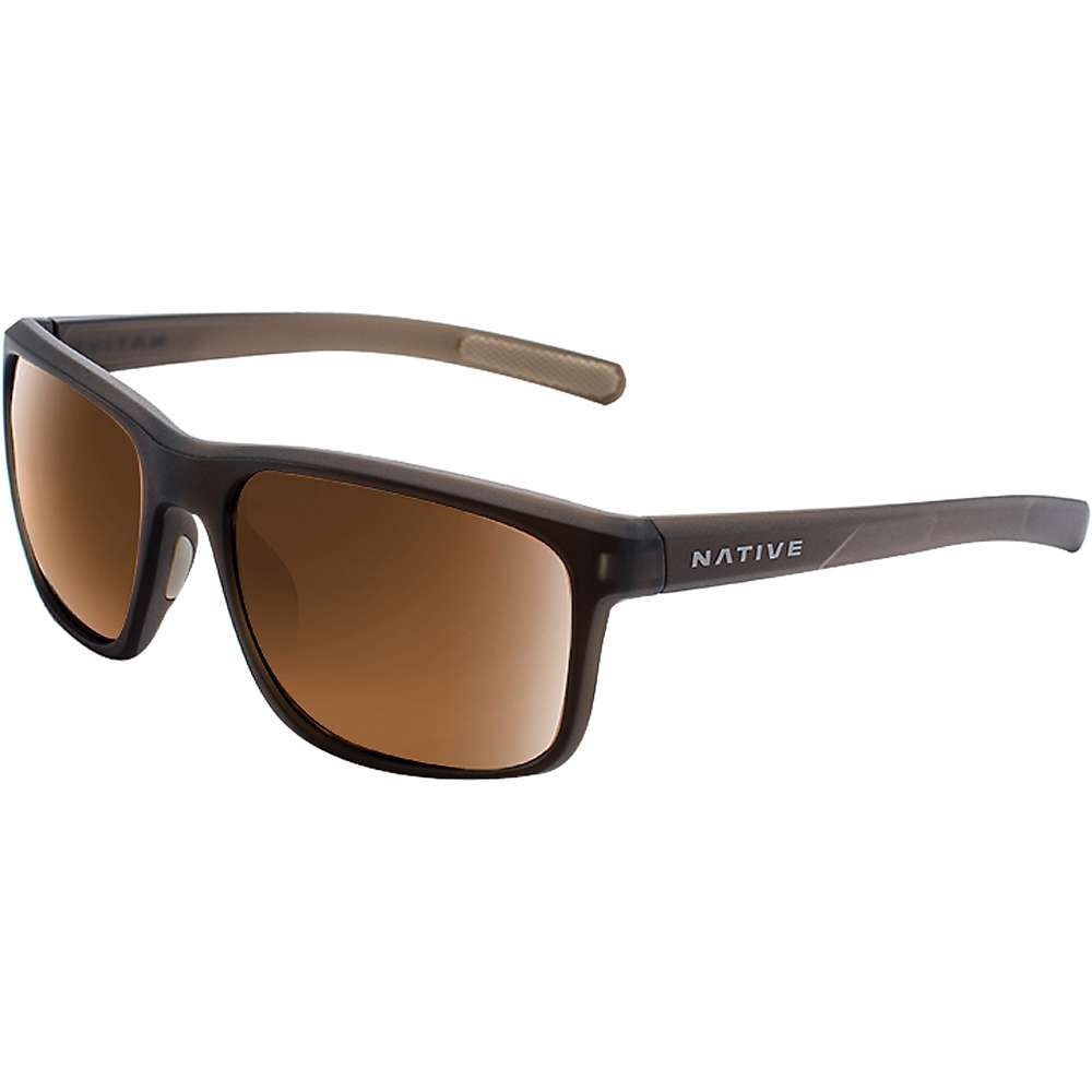 ネイティブ メンズ メガネ・サングラス【Natuve Wells Polarized Sunglasses】Matte Brown Crystal / Brown Polarized