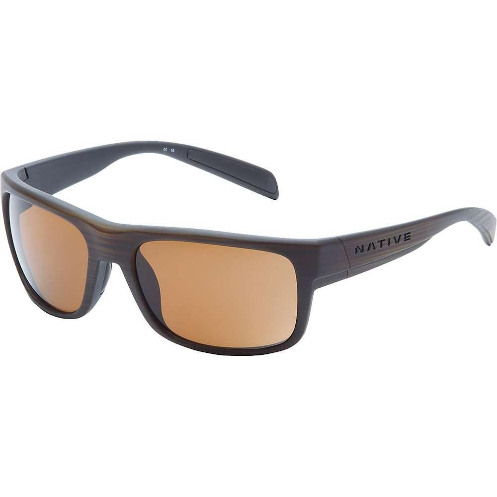 ネイティブ メンズ メガネ・サングラス【Ashdown Polarized Sunglasses】Wood / Brown Polarized