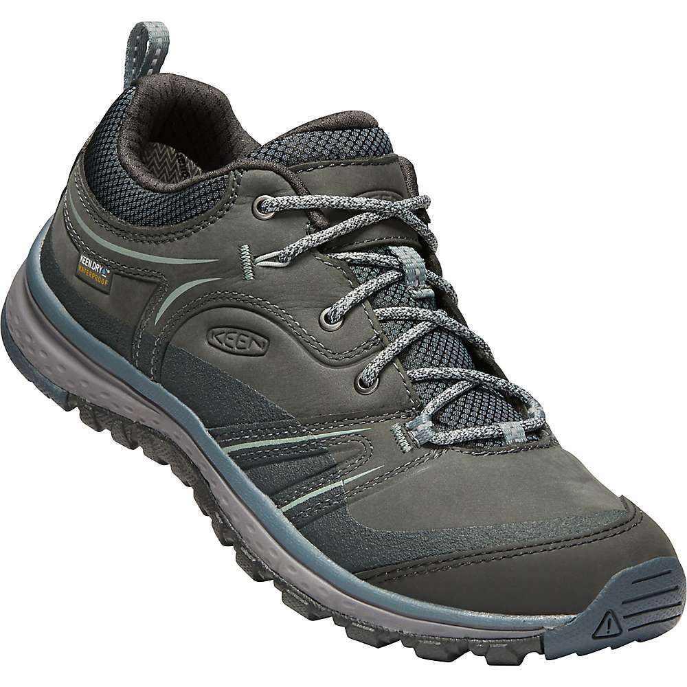 キーン レディース ランニング・ウォーキング シューズ・靴【Terradora Leather Waterproof Shoe】Tarragon / Turbulence