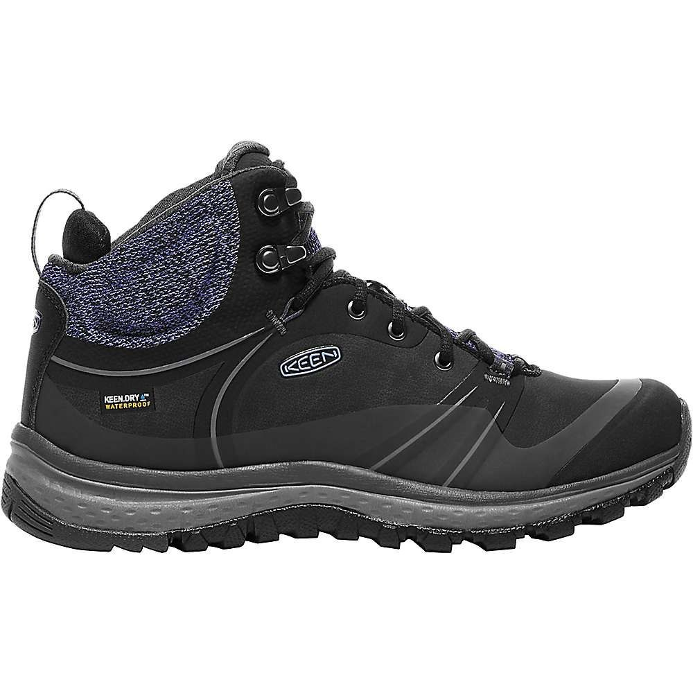 キーン レディース ランニング・ウォーキング シューズ・靴【Terradora Pulse Mid Waterproof Shoe】Black / Magnet