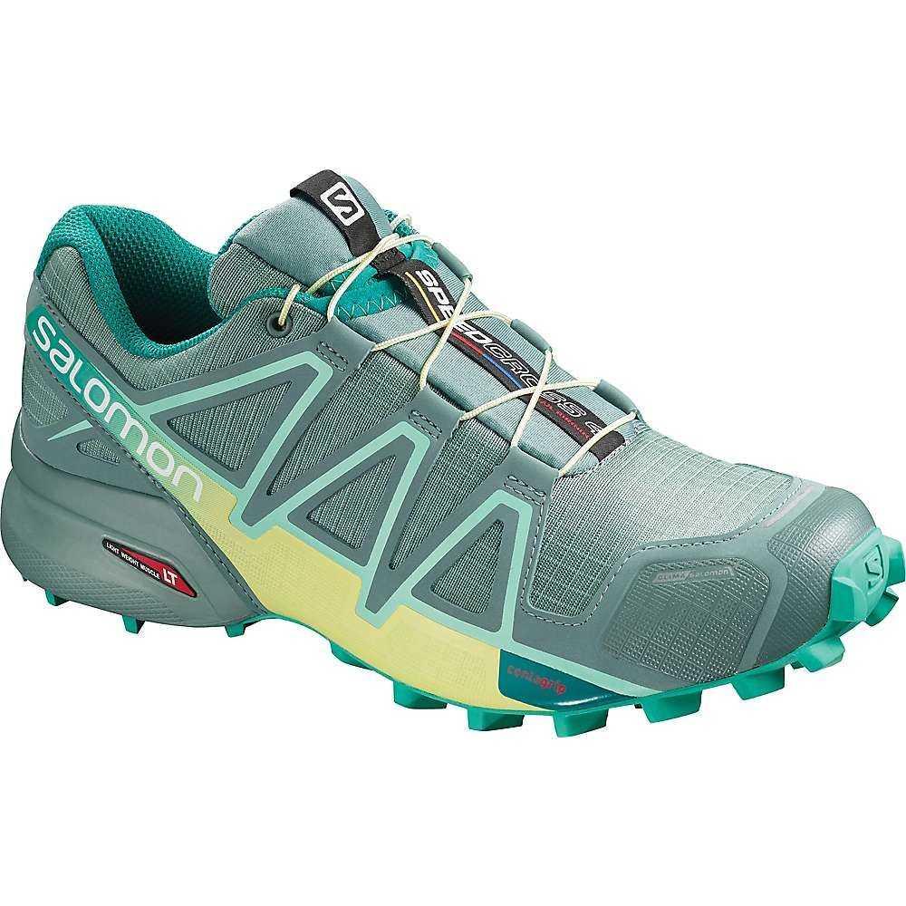 サロモン Salomon レディース ランニング・ウォーキング シューズ・靴【Speedcross 4 CS Shoe】Trellis / Sunny Lime / Atlantis