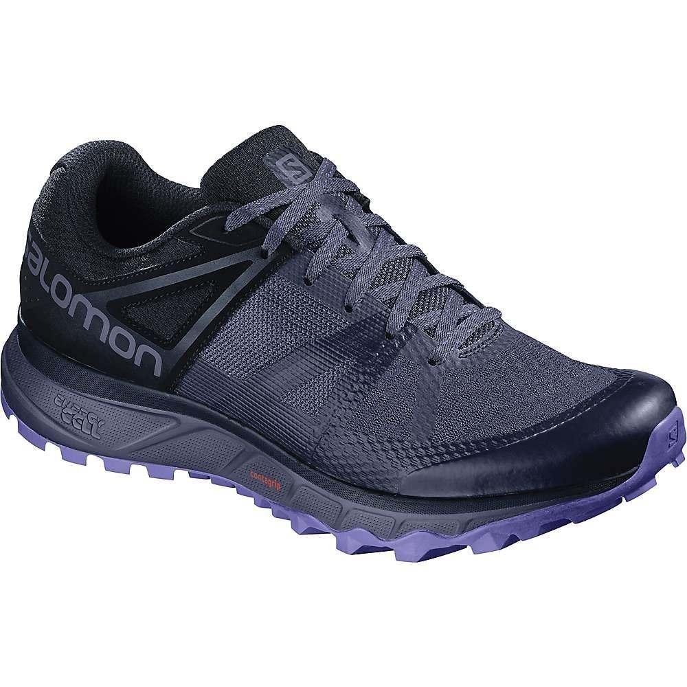 サロモン Salomon レディース ランニング・ウォーキング シューズ・靴【Trailster Shoe】Crown Blue / Navy Blazer / Purple Opulence