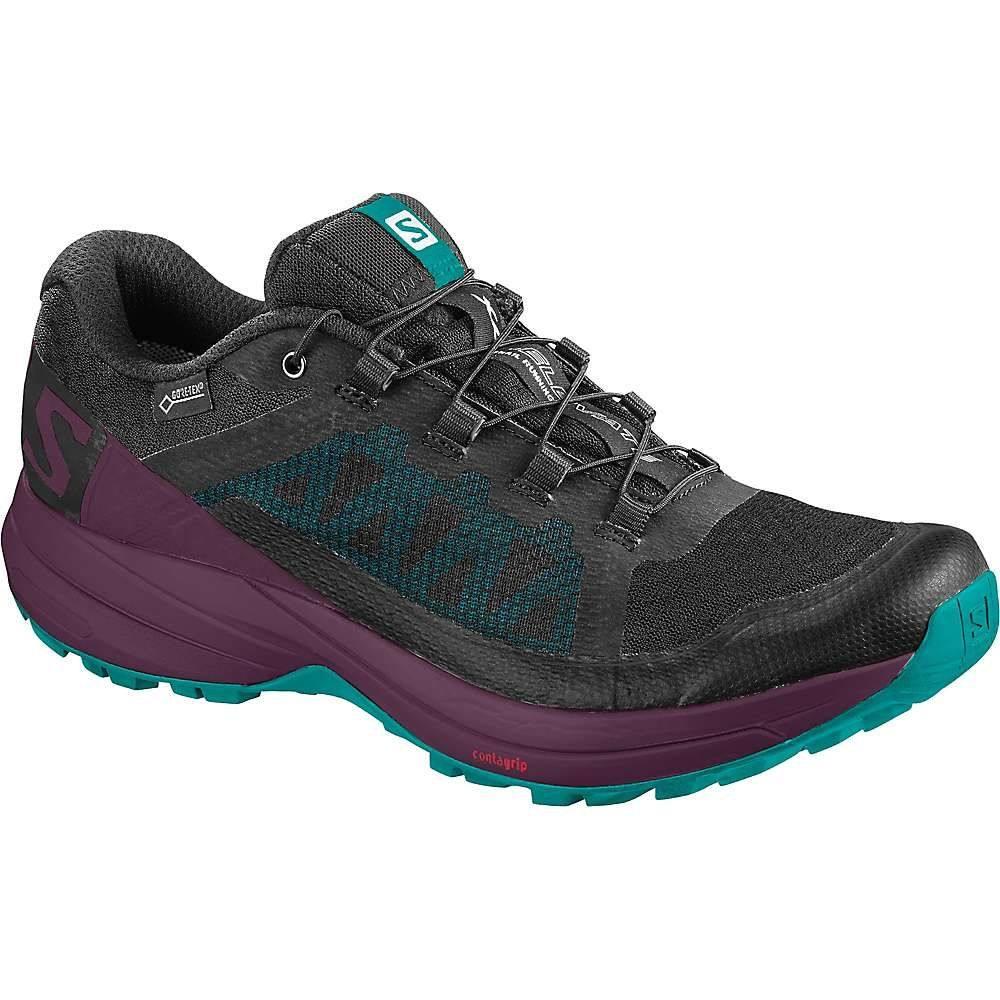 サロモン Salomon レディース ランニング・ウォーキング シューズ・靴【XA Elevate GTX Shoe】Black / Potent Purple / Tropical Green