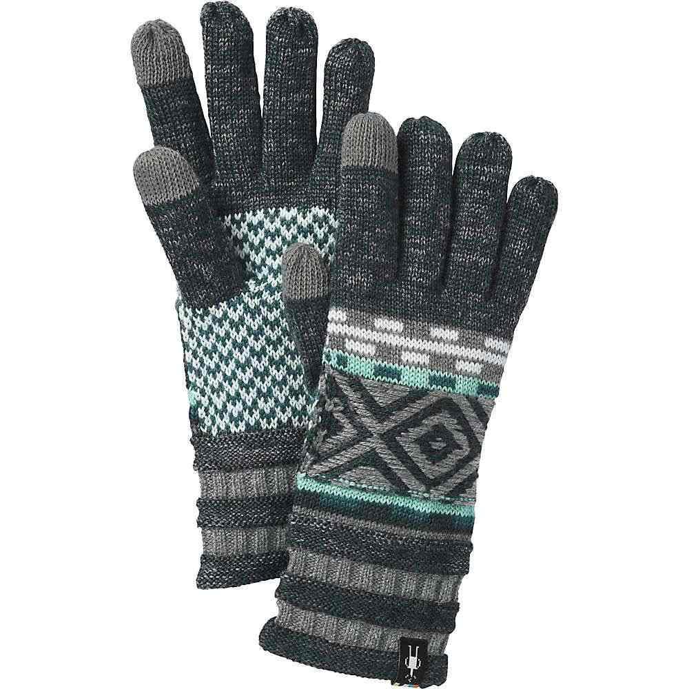 スマートウール Smartwool メンズ 手袋・グローブ【Dazzling Wonderland Glove】Lochness Heather