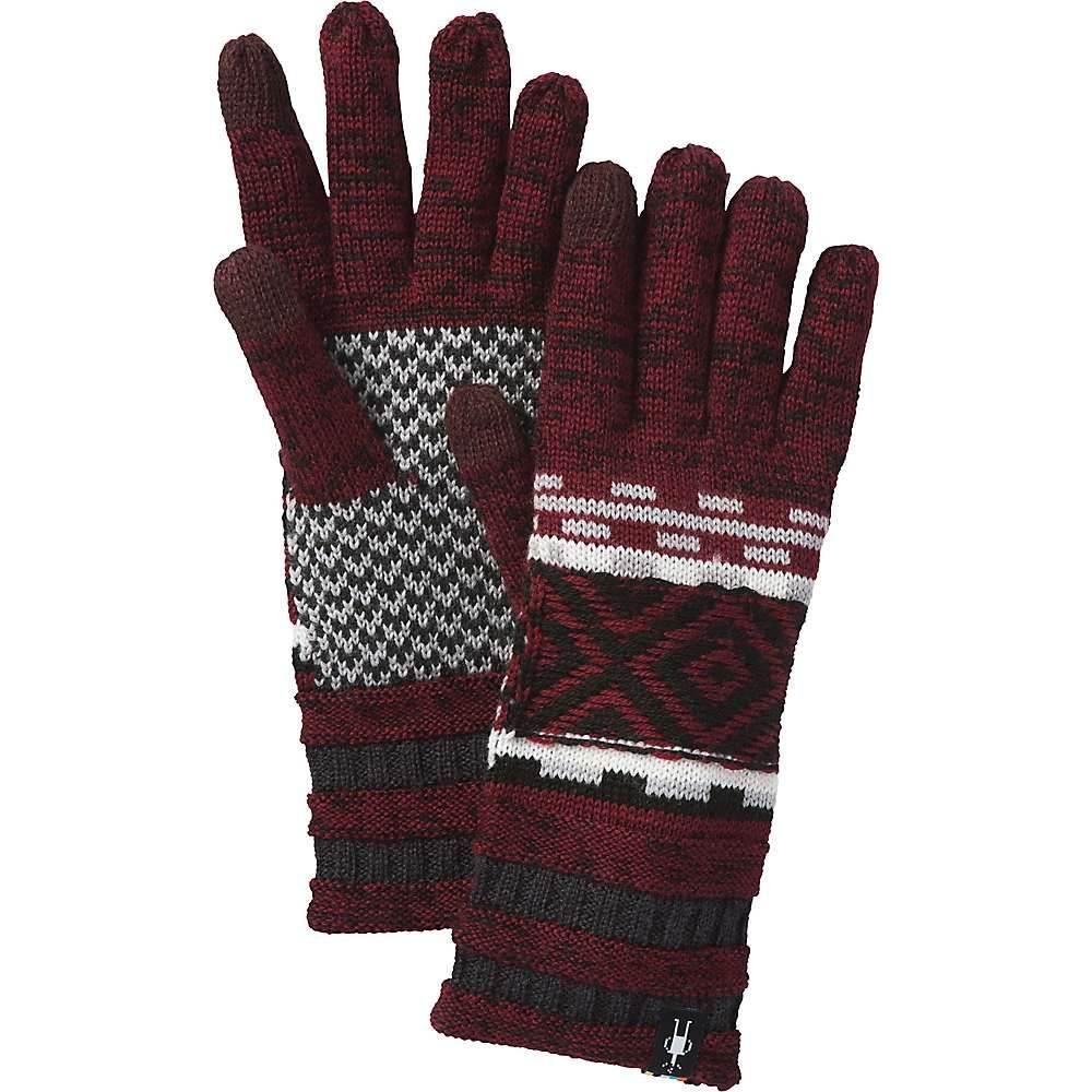 スマートウール Smartwool メンズ 手袋・グローブ【Dazzling Wonderland Glove】Tibetan Red