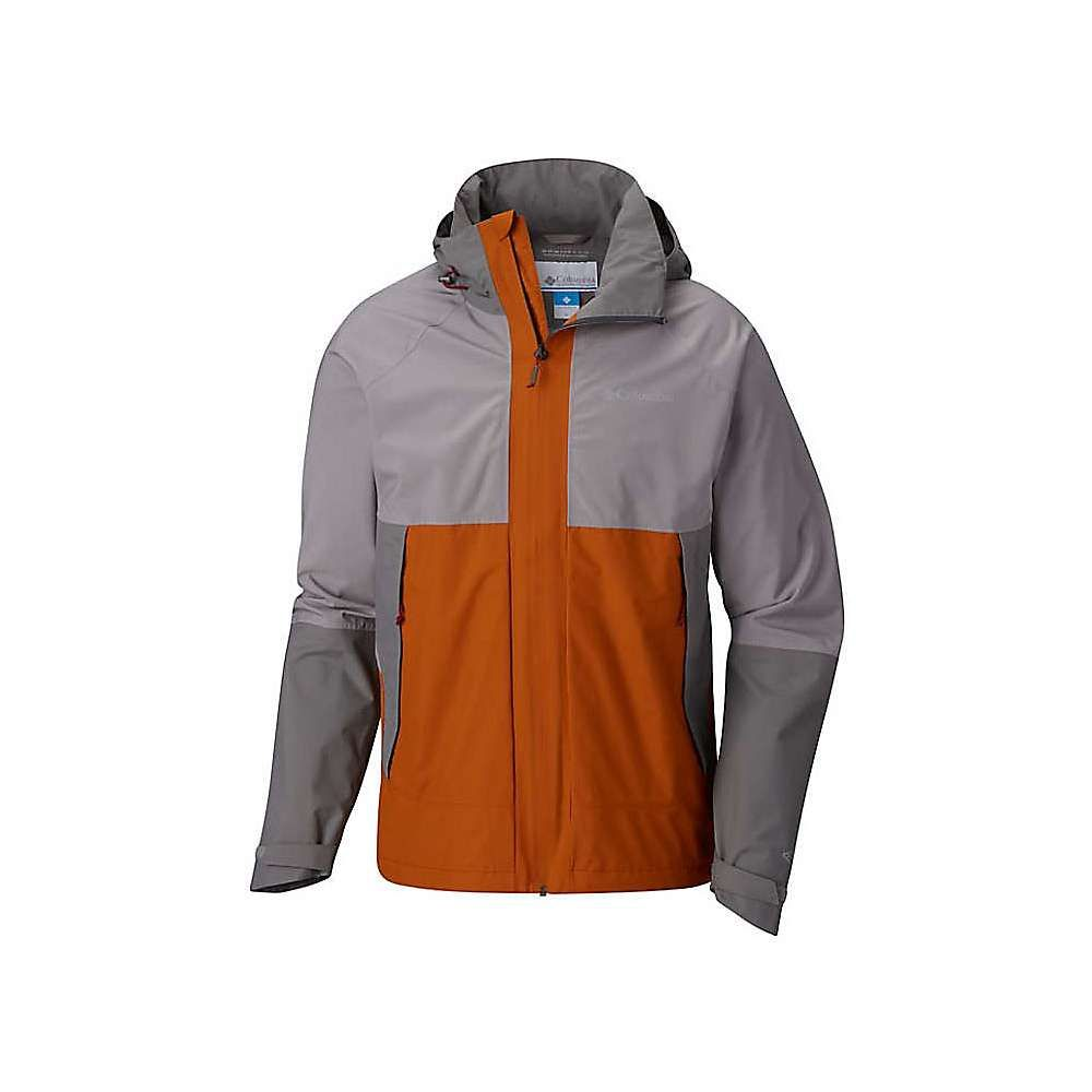 コロンビア Columbia メンズ アウター レインコート【Evolution Valley Jacket】Boulder / Bright Copper