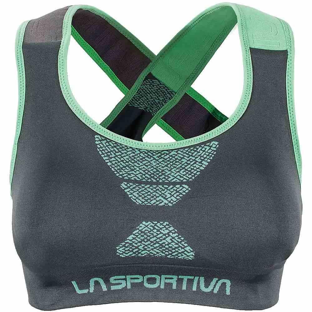 ラスポルティバ La Sportiva レディース インナー・下着 スポーツブラ【Focus Top】Slate Jadegreen