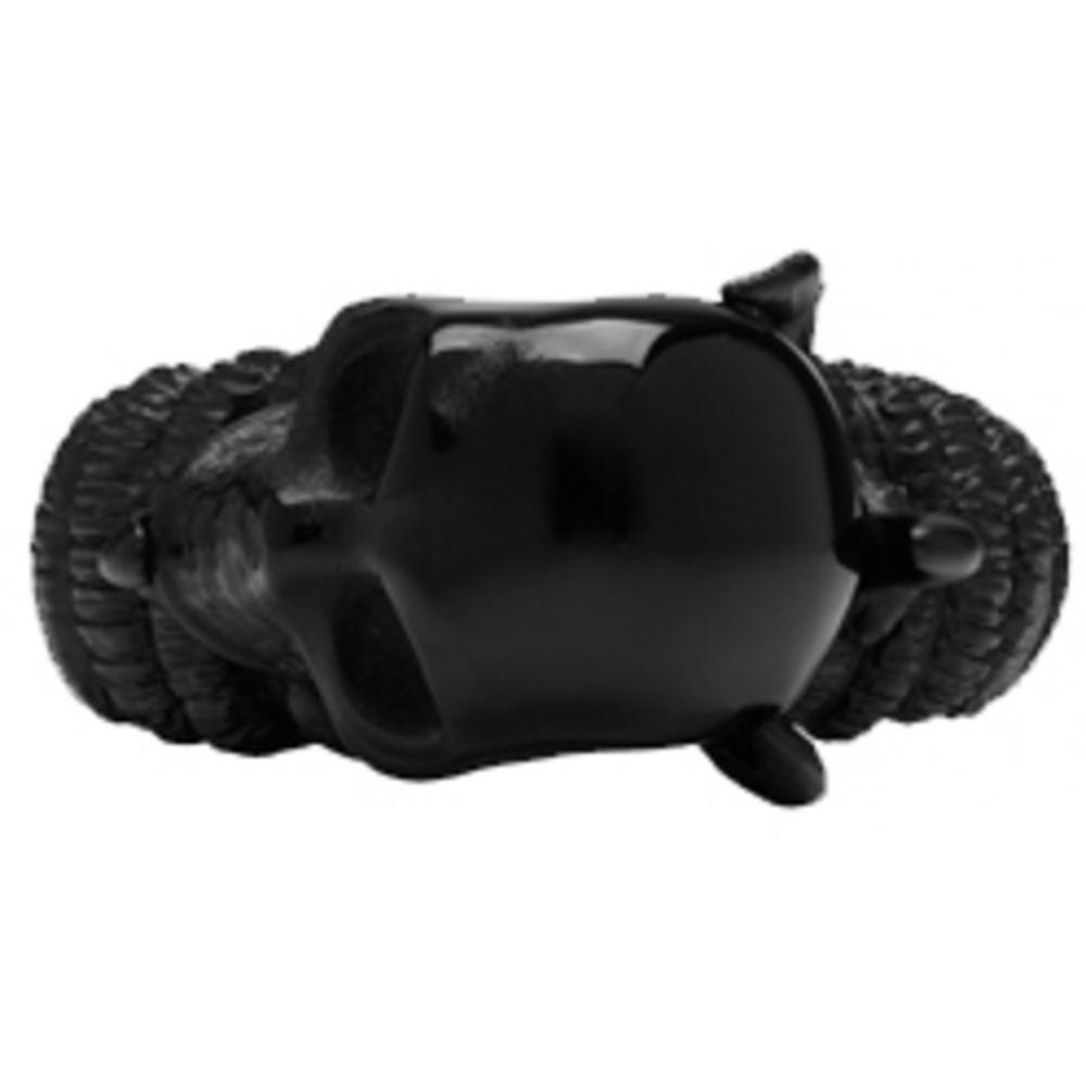 アレキサンダー マックイーン メンズ ジュエリー・アクセサリー 指輪・リング【Black Skull Claw Ring】