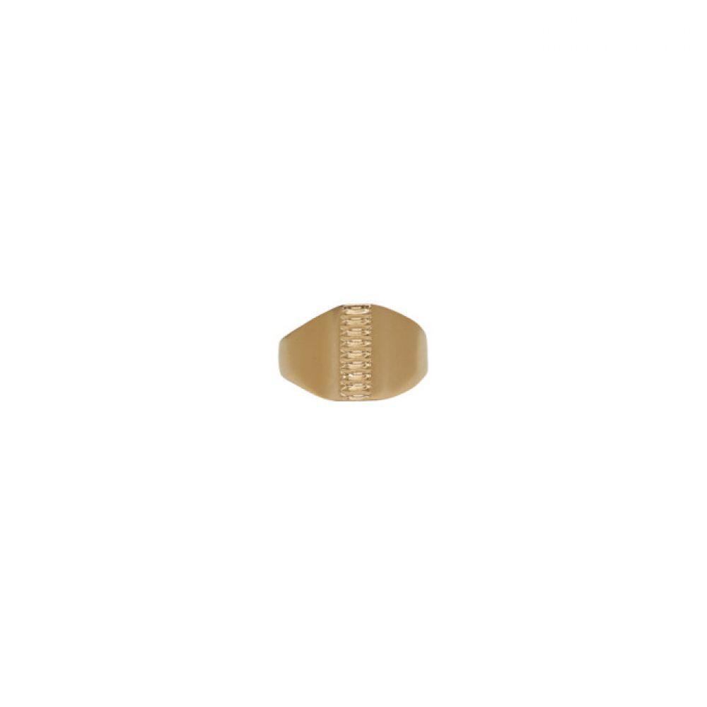 メゾン マルジェラ メンズ ジュエリー・アクセサリー 指輪・リング【Gold Replica Pony Ring】