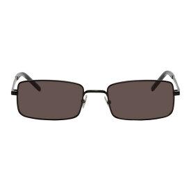 イヴ サンローラン Saint Laurent メンズ メガネ・サングラス【Black SL 252 Sunglasses】