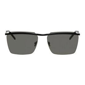 イヴ サンローラン Saint Laurent メンズ メガネ・サングラス【Black SL 243 Sunglasses】