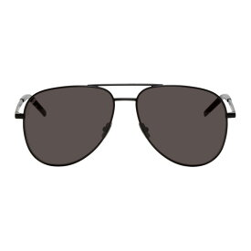 イヴ サンローラン Saint Laurent メンズ メガネ・サングラス【Black Classic 11 Folk Sunglasses】