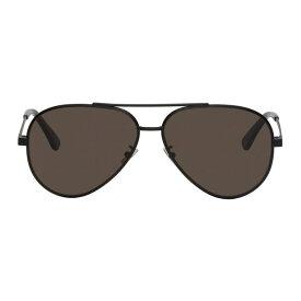 イヴ サンローラン Saint Laurent メンズ メガネ・サングラス【Black Classic 11 Zero Sunglasses】