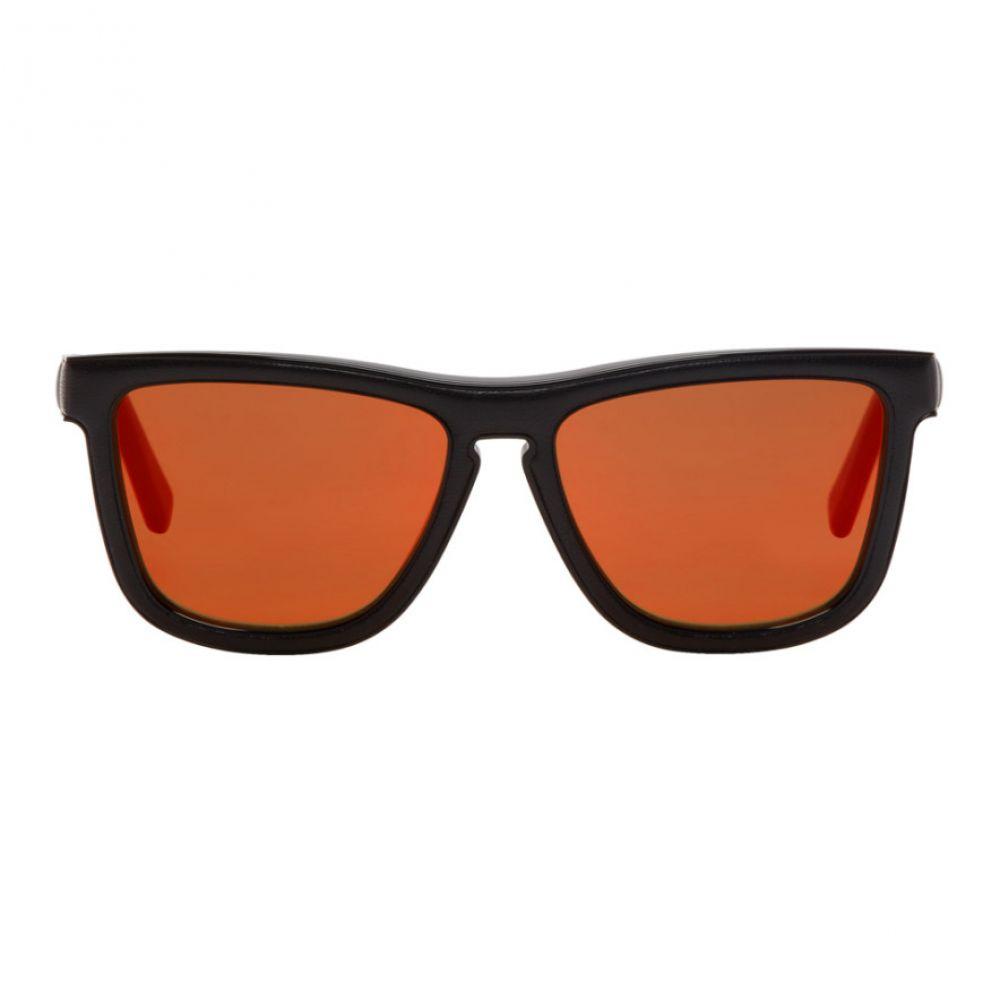 ロエベ Loewe メンズ メガネ・サングラス【Black Square Padded Sunglasses】