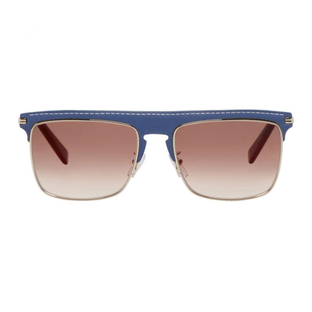ロエベ Loewe メンズ メガネ・サングラス【Blue Square Sunglasses】