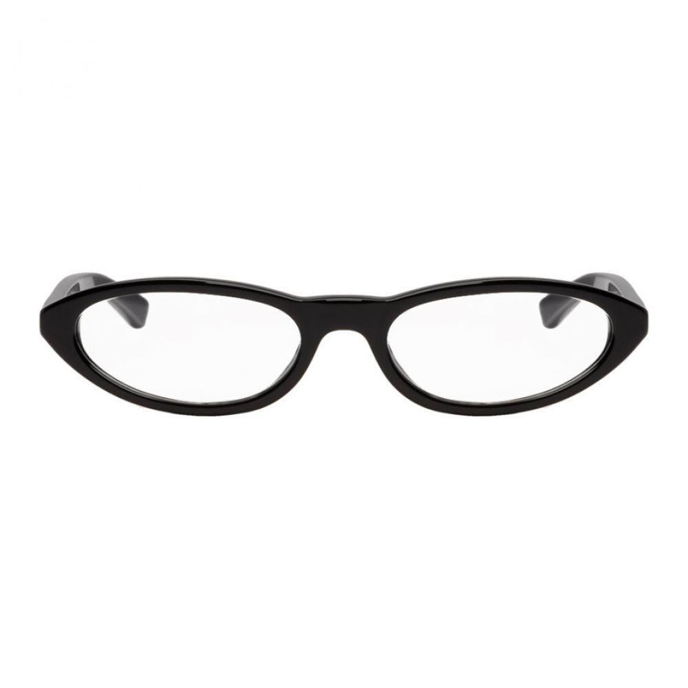 バレンシアガ Balenciaga レディース メガネ・サングラス【Black Narrow Glasses】