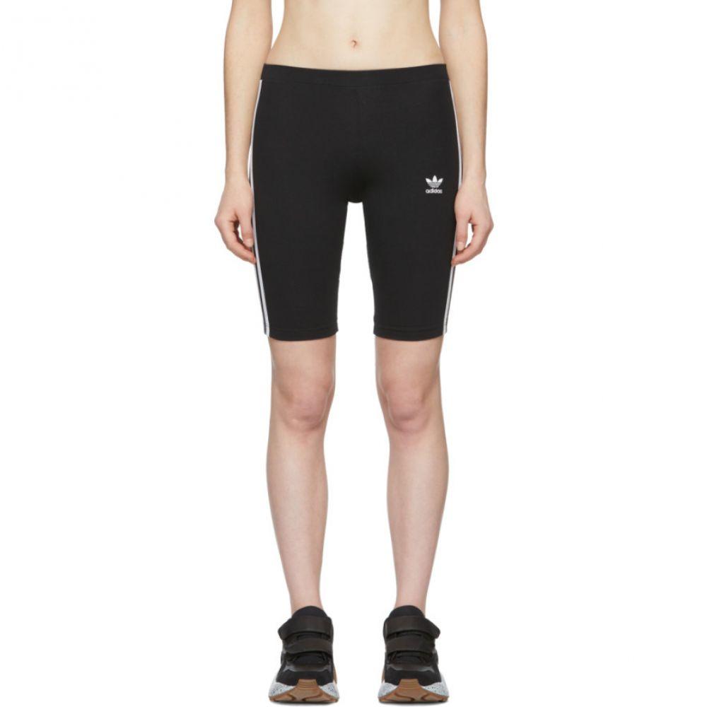アディダス adidas Originals レディース 自転車 ボトムス・パンツ【Black Adicolor Cycling Shorts】