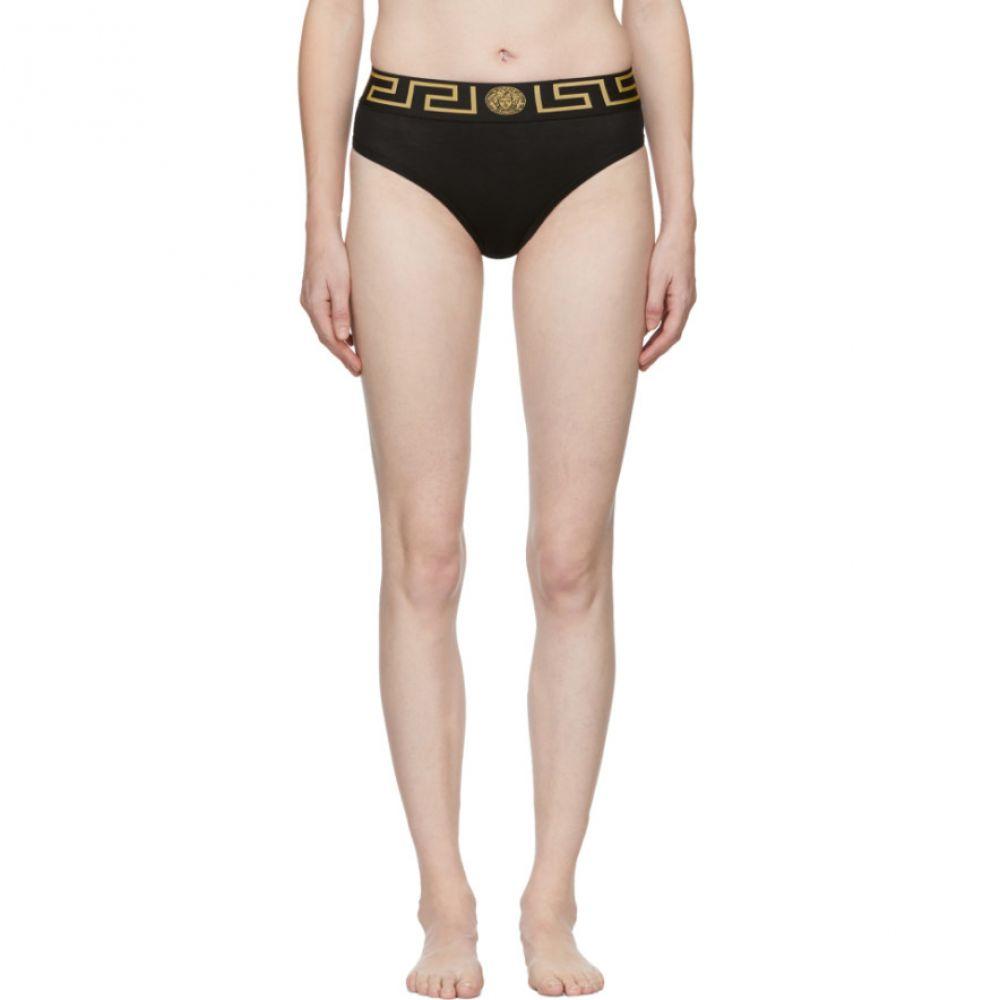 ヴェルサーチ Versace Underwear レディース インナー・下着 ショーツのみ【Black Medusa Empire Briefs】