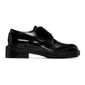 メゾン マルジェラ MM6 Maison Margiela レディース シューズ・靴 ローファー・オックスフォード【Black Polished Oxfords】