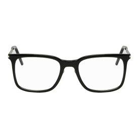 イヴ サンローラン Saint Laurent メンズ メガネ・サングラス【Black Square Glasses】