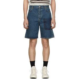 J.W.アンダーソン JW Anderson メンズ ボトムス・パンツ ショートパンツ【Blue Denim Shaded Pocket Shorts】