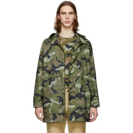 ヴァレンティノ Valentino メンズ アウター コート【Green Camo Army Coat】